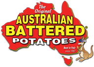 Australian Battered Potatoes Logo