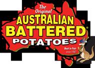 Australian Battered Potatoes Logo