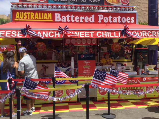 San Diego Fair – Australian Battered Potatoes